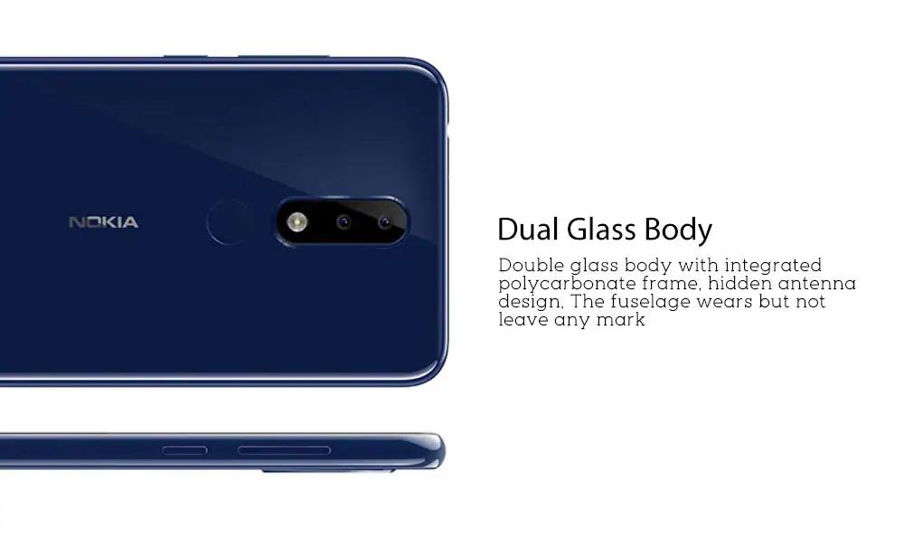 Nokia X5 diseño laterales