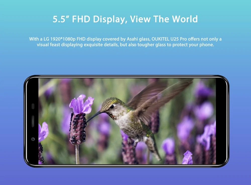 OUKITEL U25 Pro pantalla