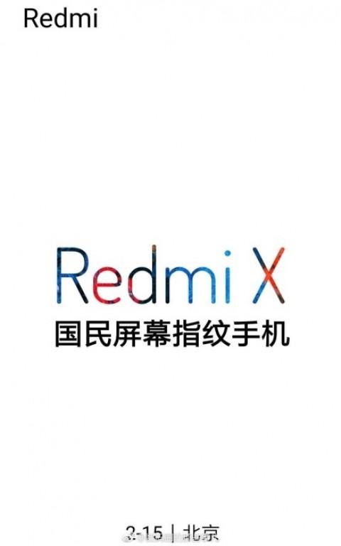 Redmi X póster