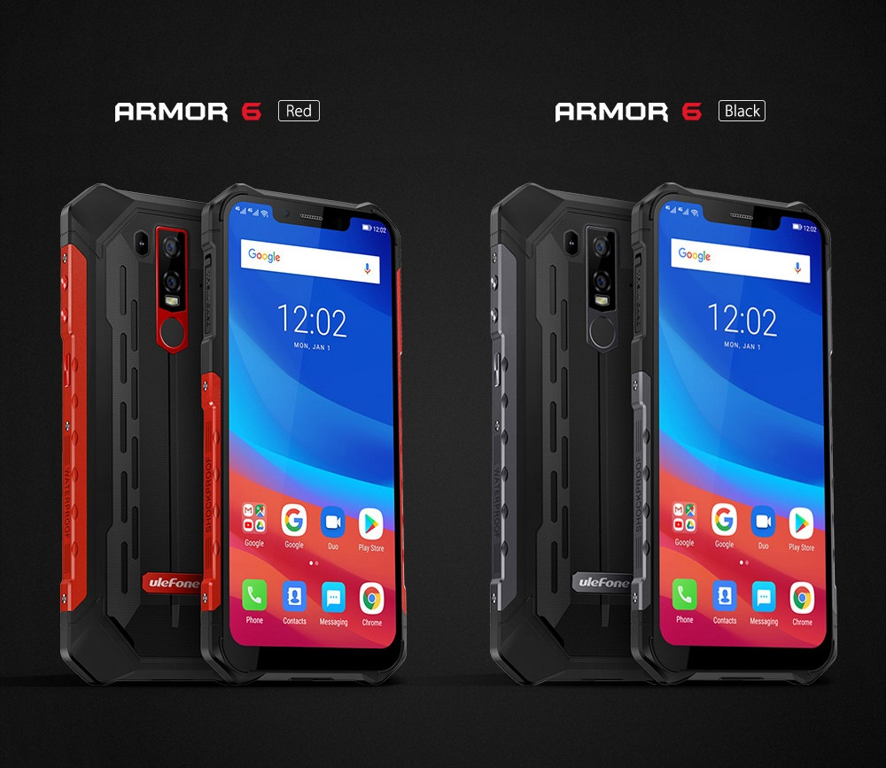 Ulefone Armor 6 colores