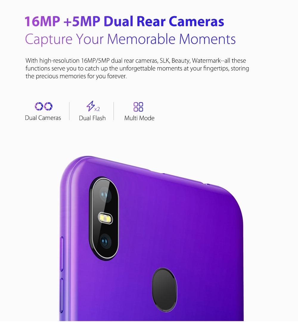 Ulefone S10 Pro cámara dual