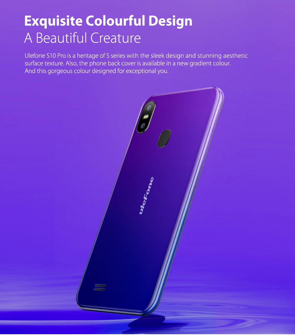Ulefone S10 Pro diseño