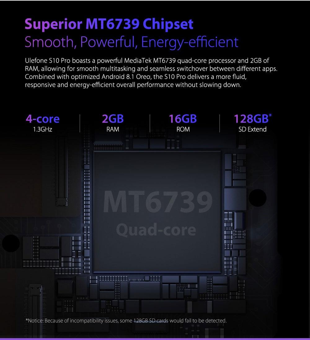 Ulefone S10 Pro hardware