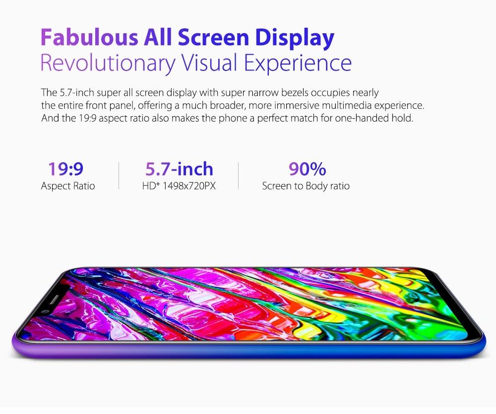 Ulefone S10 Pro pantalla