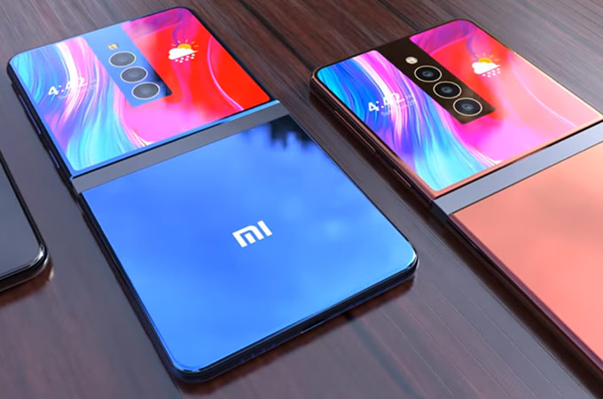 Xiaomi MIX Flex modelo