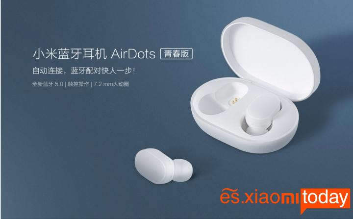 Xiaomi Mi AirDots Bluetooth Headset Destacada