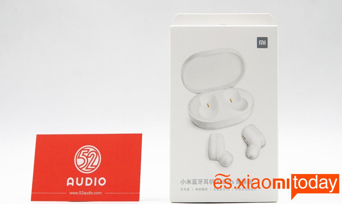 Xiaomi Mi AirDots Bluetooth Headset Paquete