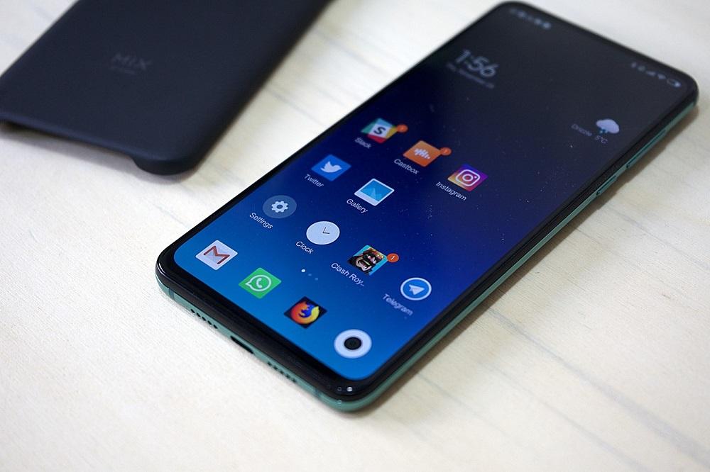 Xiaomi Mi Mix 3 sistema operativo