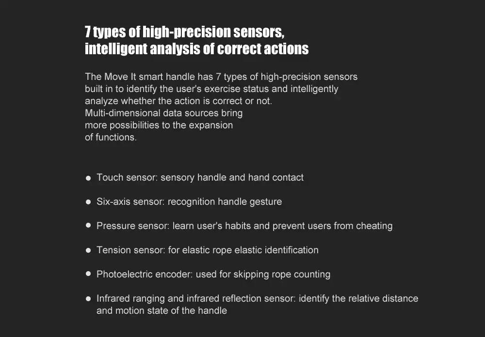 Xiaomi Move It Smart Fitness Set características
