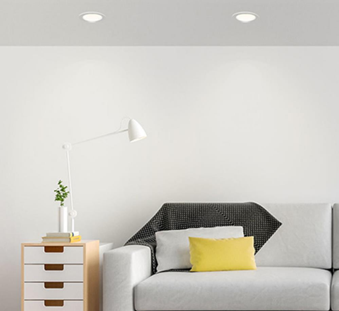 Xiaomi Philips Zhirui Adjustable Color Temperature Downlight Diseño 3