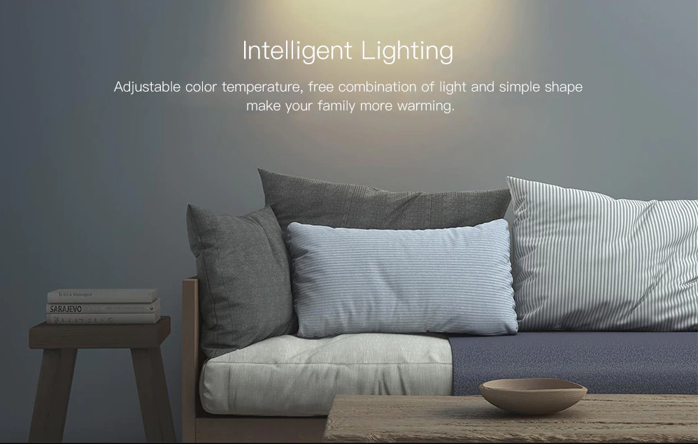 Xiaomi Philips Zhirui Adjustable Color Temperature Downlight Luz inteligente