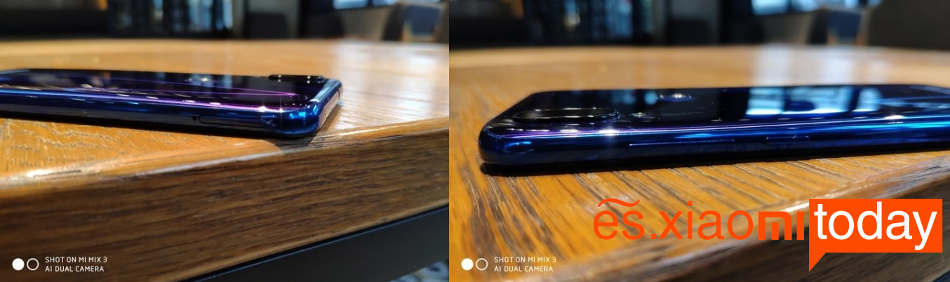 Xiaomi Play Análisis diseño laterales