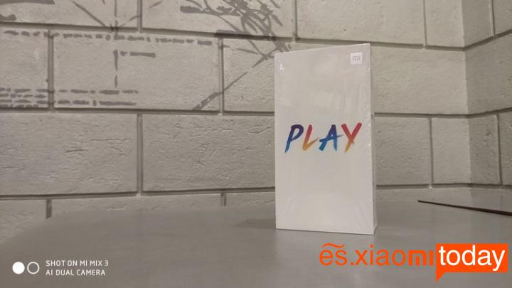 Xiaomi PlayAnálisis paquete
