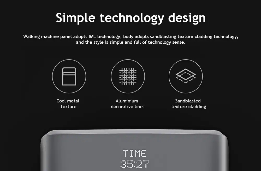 Xiaomi WalkingPad diseño