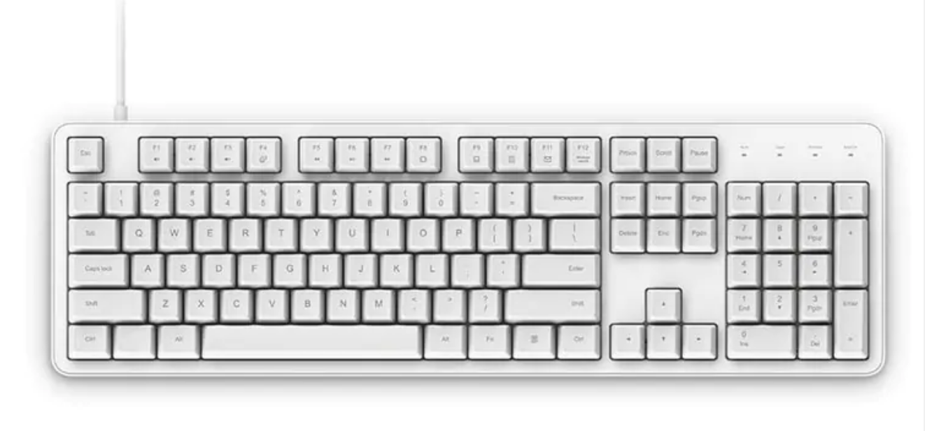 Xiaomi Yuemi MK06C Mechanical Keyboard Diseño 2
