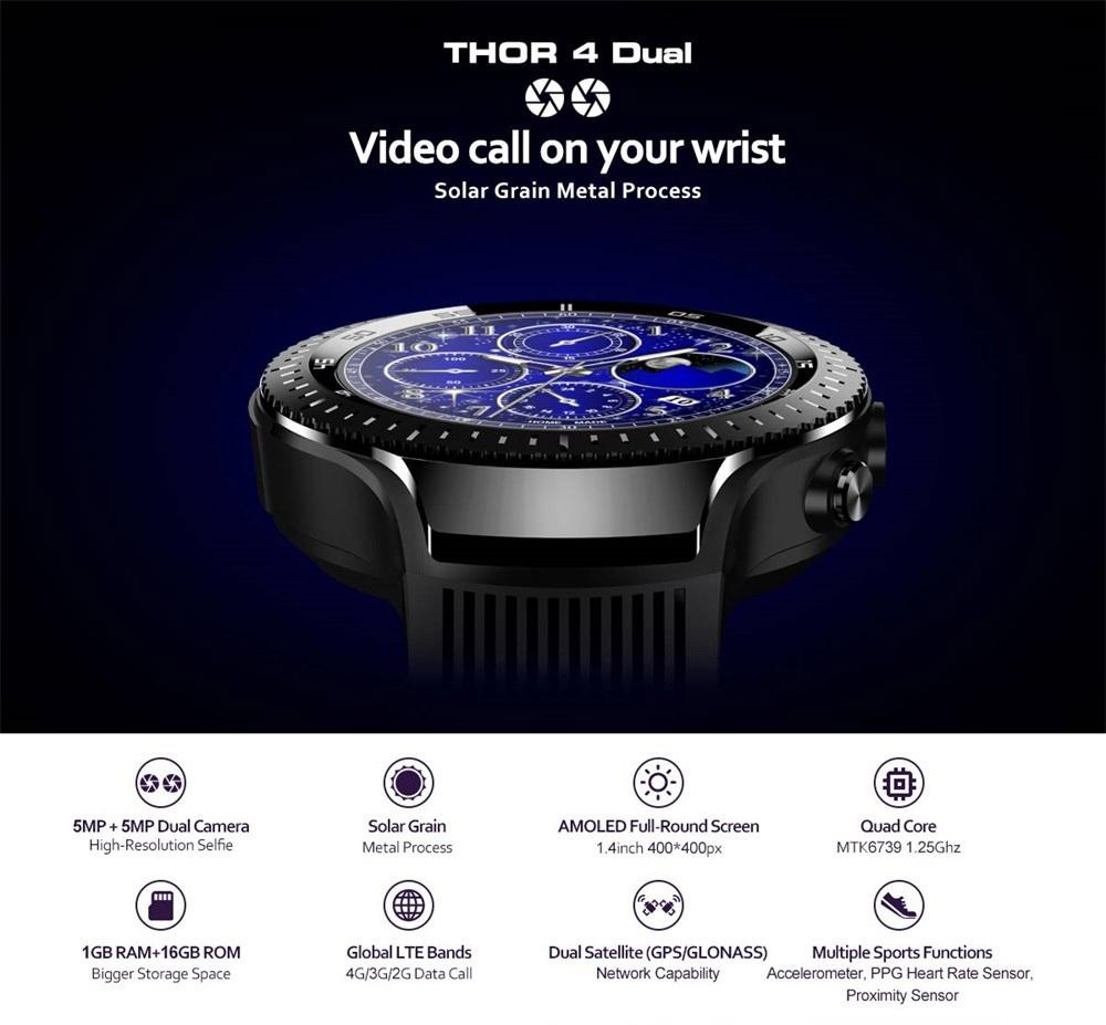 Zeblaze THOR 4 Dual 4G introducción