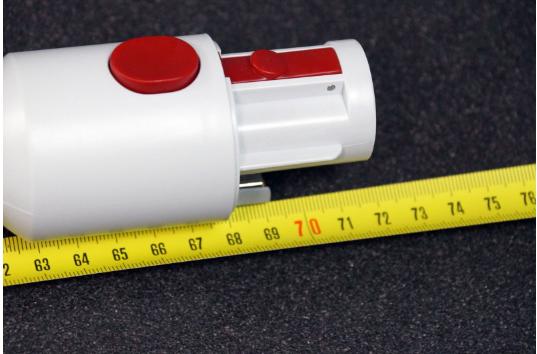 Xiaomi JIMMY JV51 Análisis: Dimensiones y peso