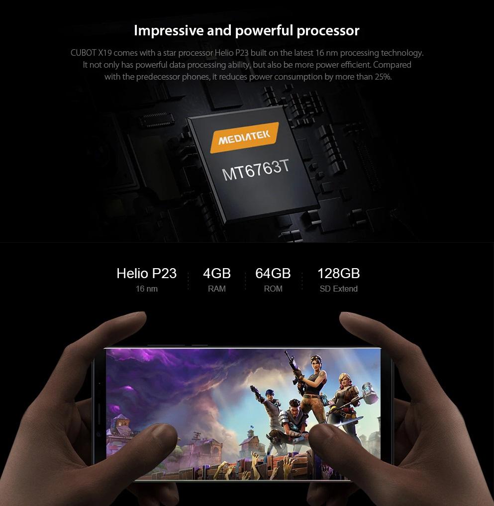 CUBOT X19 Hardware