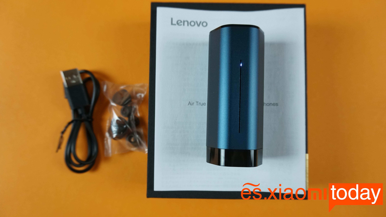 Lenovo Air TWS análisis caja contenido