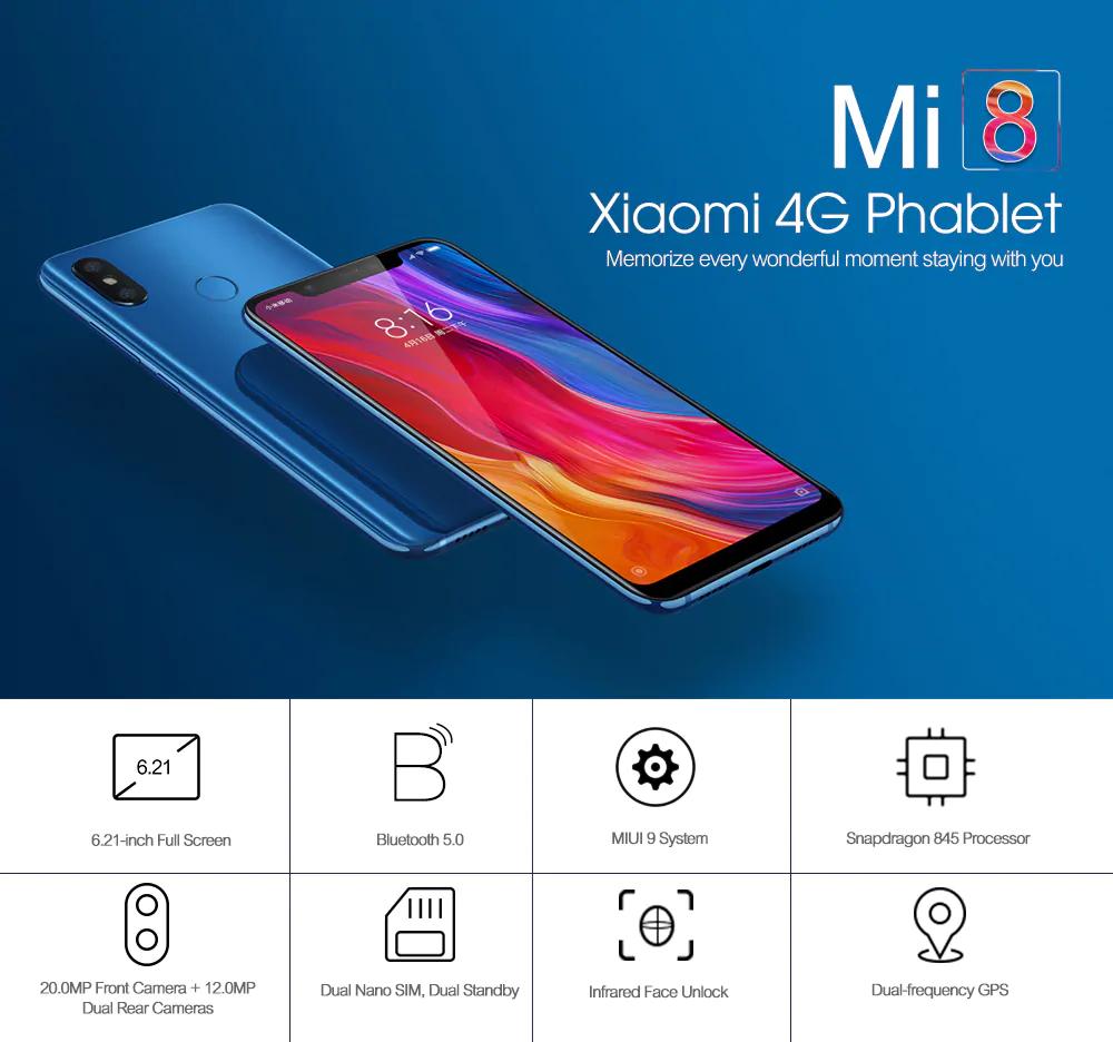 Ofertas del año nuevo chino Xiaomi Mi 8