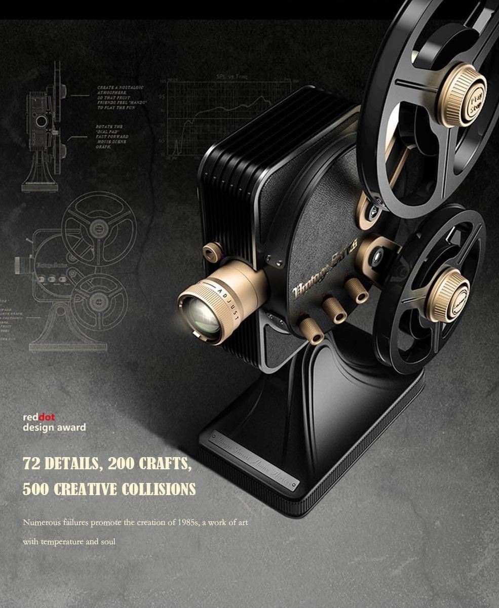 Proyector JMGO 1895S diseño 72 detalles
