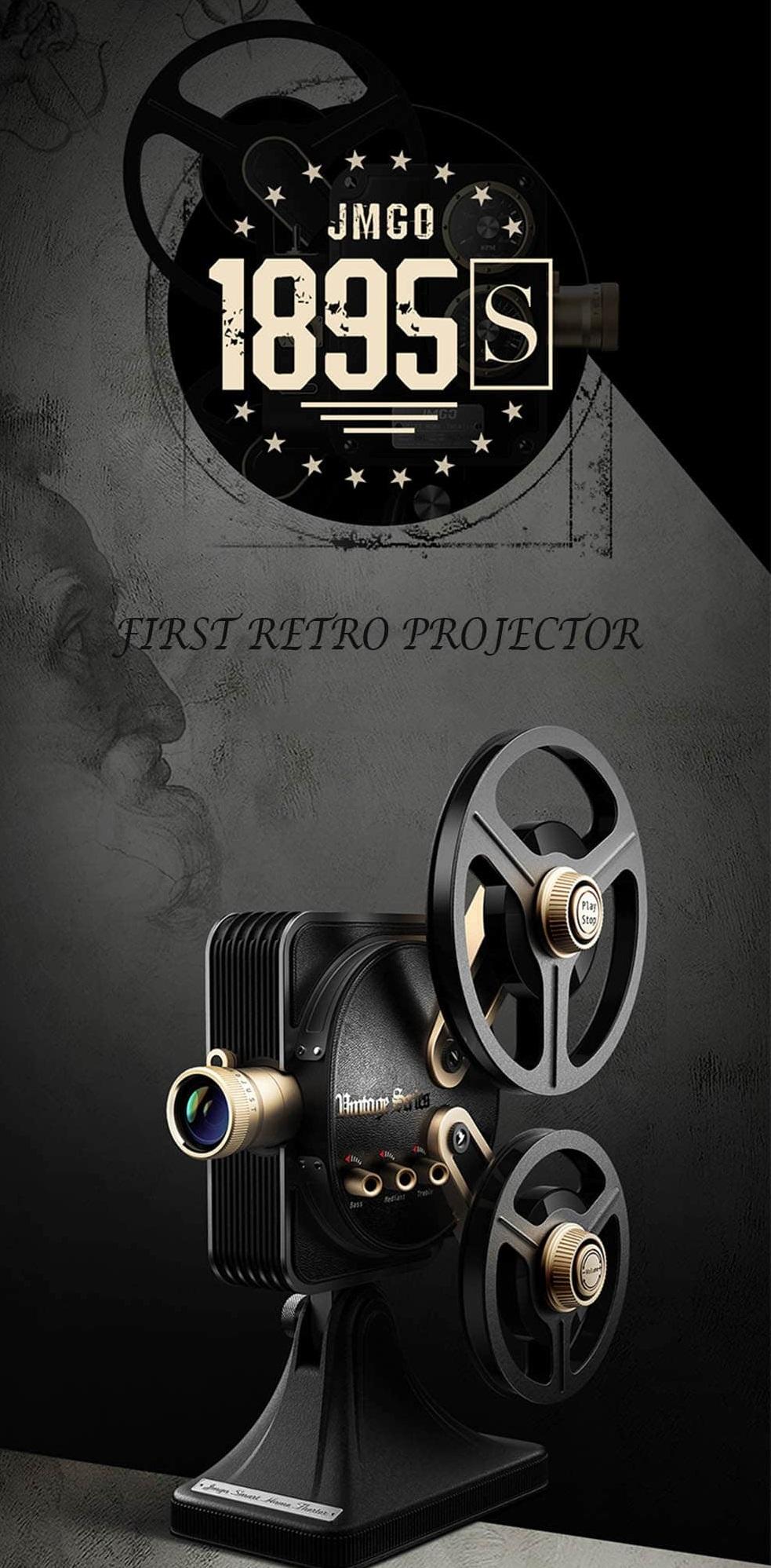 Proyector JMGO 1895S introducción