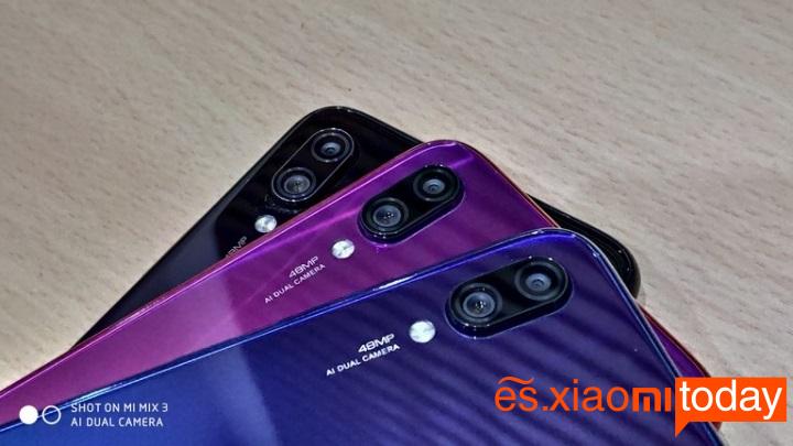 Redmi Note 7 cámara principal