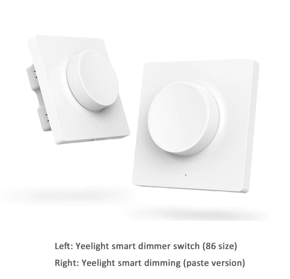 Xiaomi Yeelight Smart Dinner Switch: Diseño