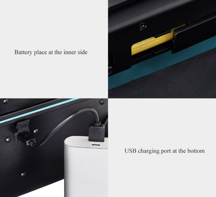 Xiaomi 90Fun Fingerprint Unlock Suitcase Extras
