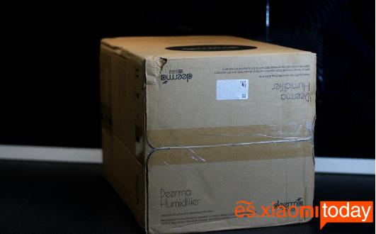 Xiaomi Deerma DEM-SJS100 análisis caja parte superior