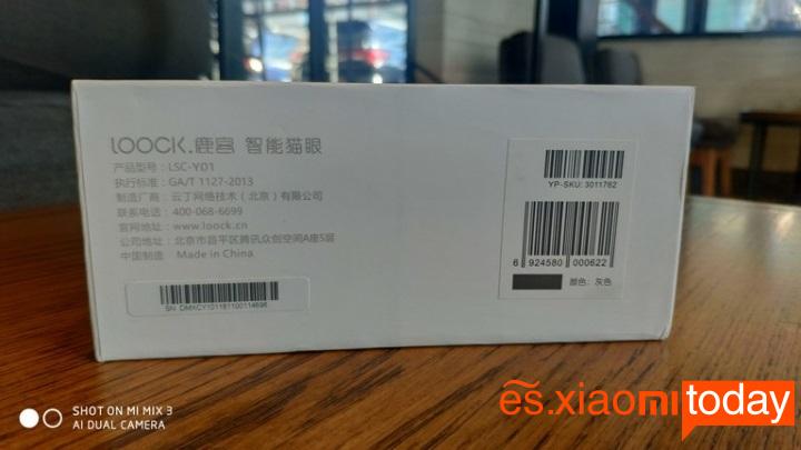 Xiaomi Loock CatY caja laterales