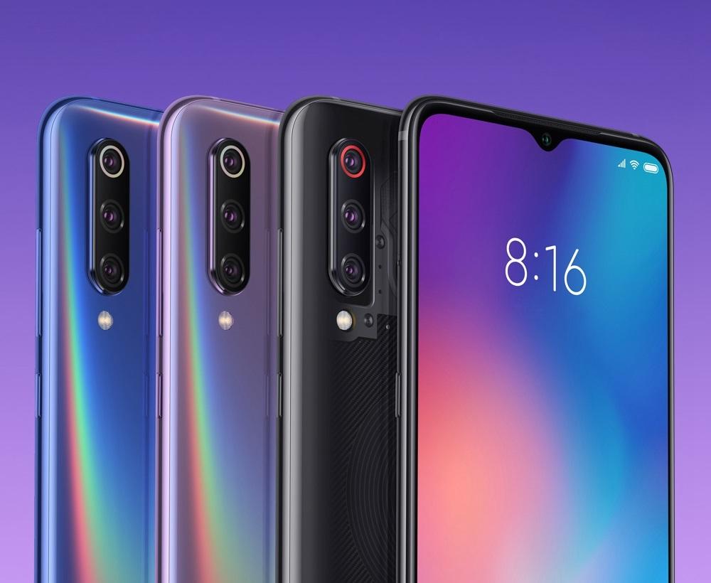 Xiaomi Mi 9 Diseño colores