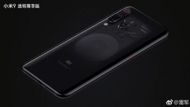 Xiaomi Mi 9 Explorer transparente 1