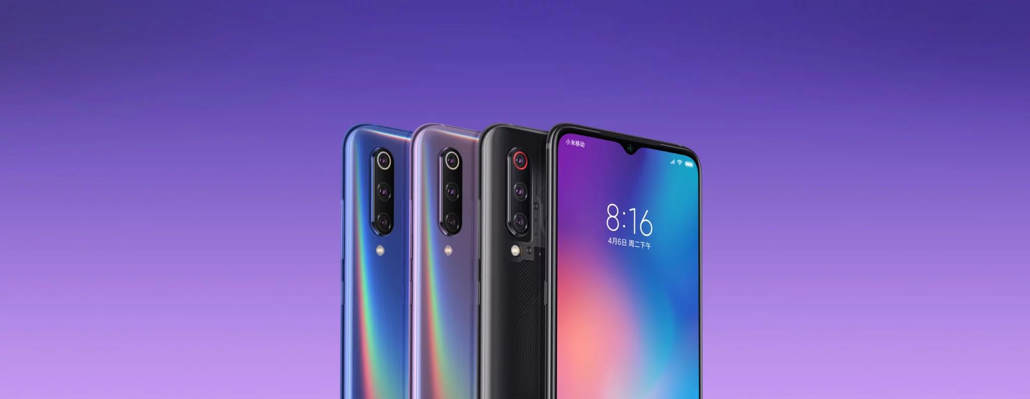 Xiaomi Mi 9 transparente