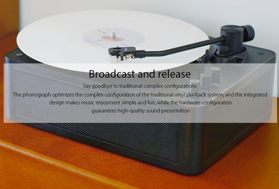 Xiaomi Multifunctional Bluetooth Vinyl Player Configuración