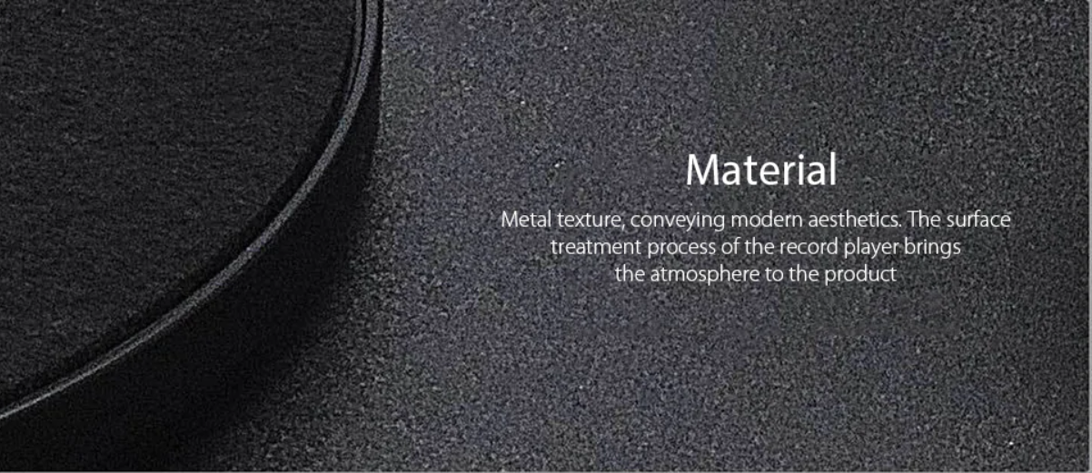 Xiaomi Multifunctional Bluetooth Vinyl Player Material