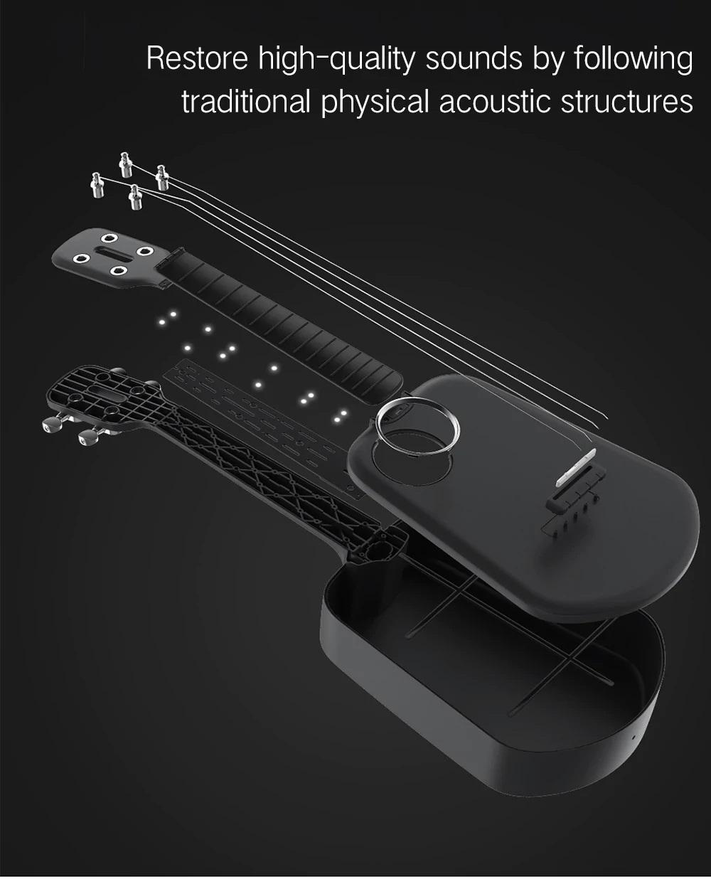 XiaomiPopulele2 diseño acústica