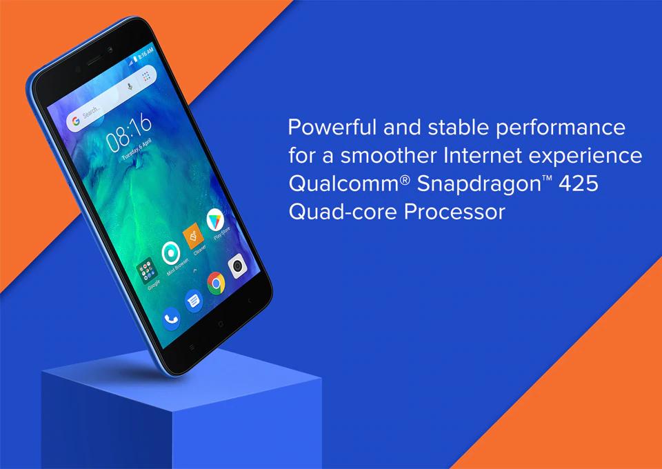 Xiaomi Redmi Go procesador
