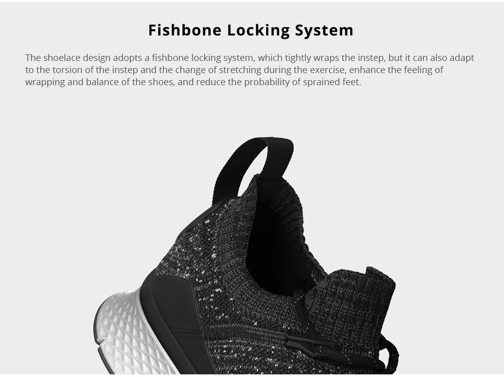 Zapatos Xiaomi Mijia Freetie diseño posterior