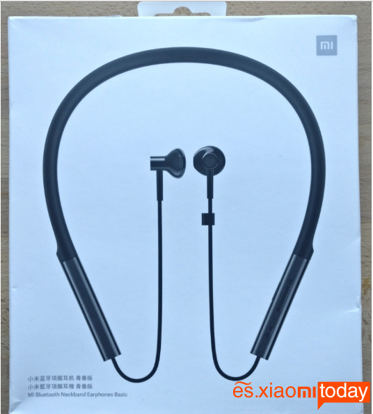 Xiaomi LYXQEJ01JY Bluetooth Earphones Análisis:Empaque