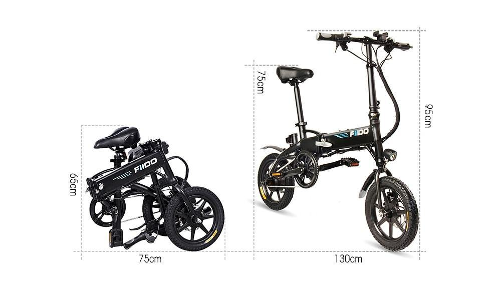 FIIDO D1 Folding Electric Bike: Caracteristicas