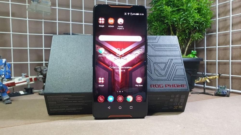 ASUS ROG Phone caja