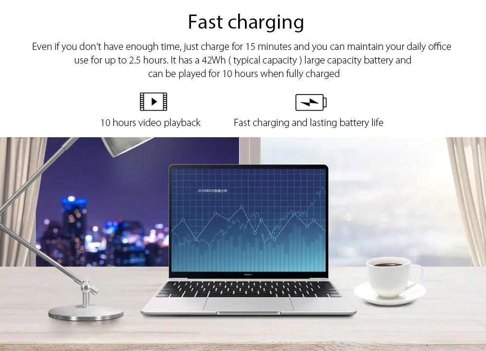 Huawei Matebook 13 Batería