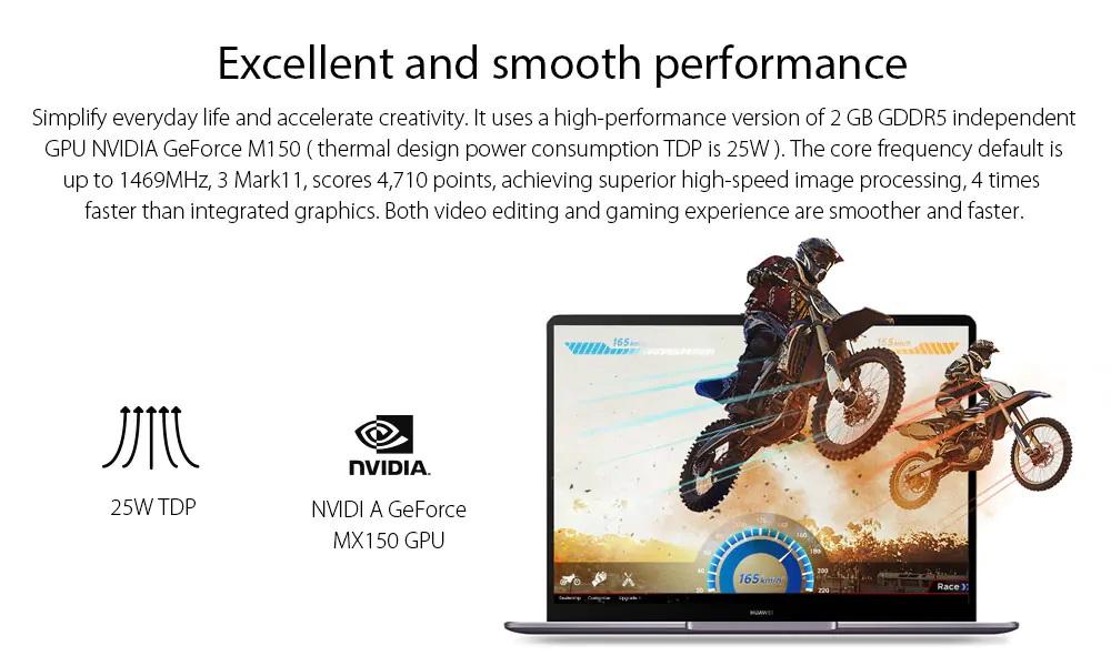Huawei Matebook 13 GPU