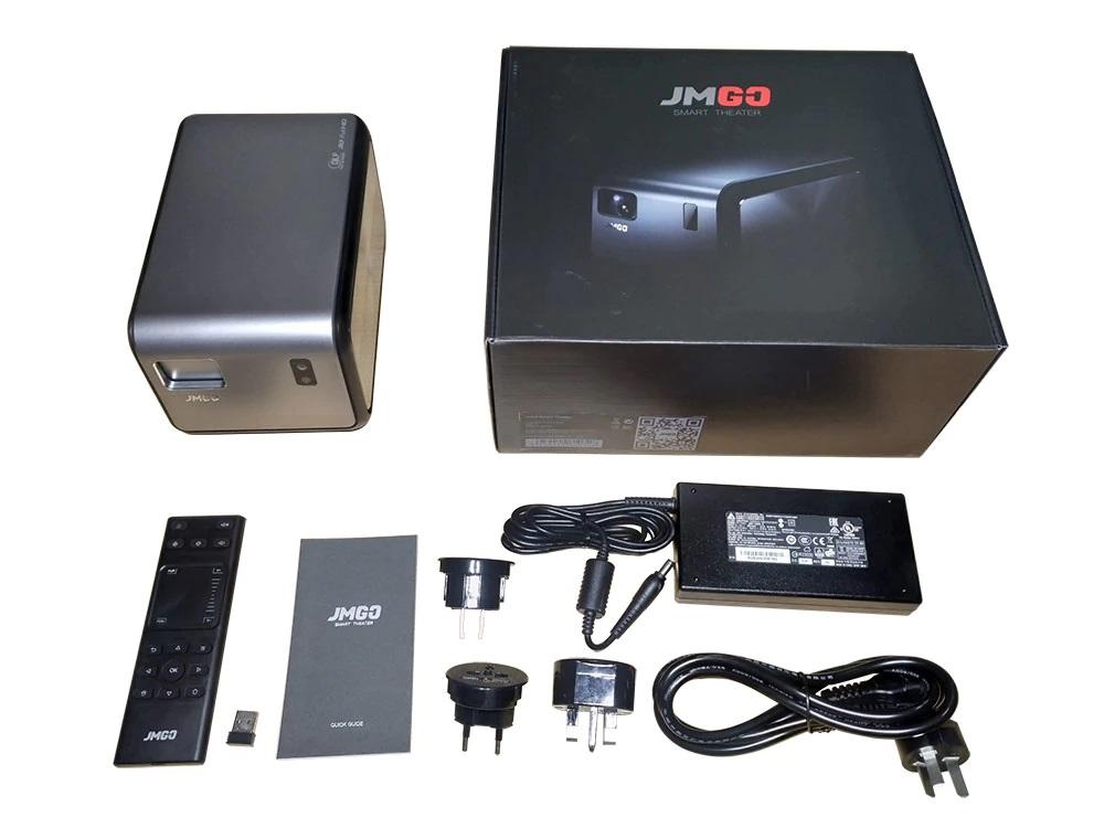 JMGO J6S paquete