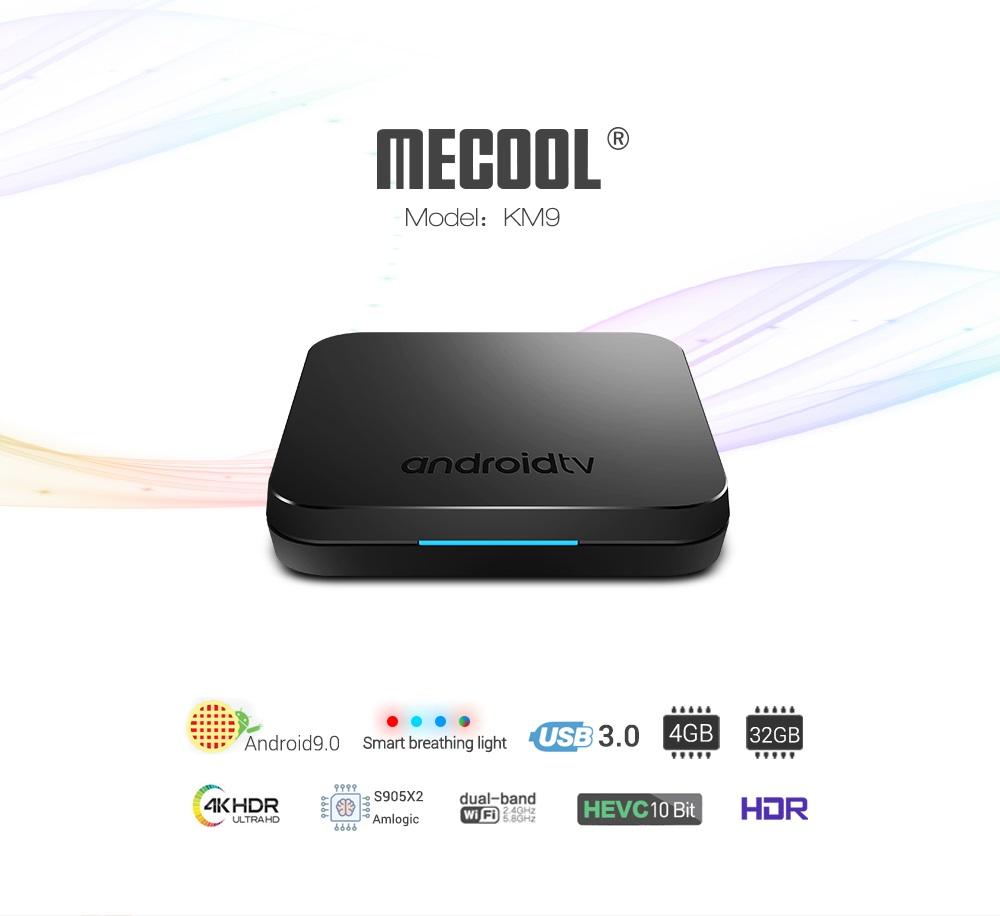 Mecool KM9 diseño