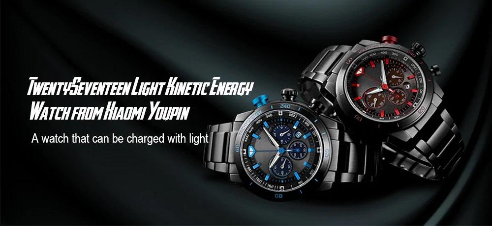 TwentySeventeen Reloj de energía cinética destacada
