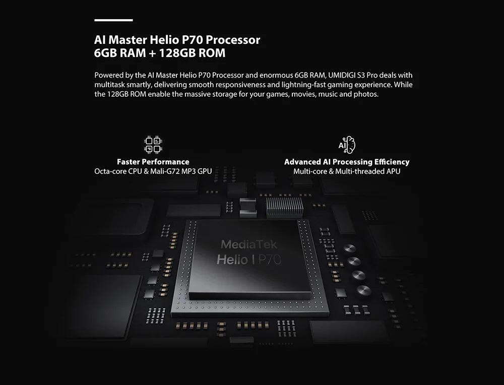 UMIDIGI S3 ProHardware