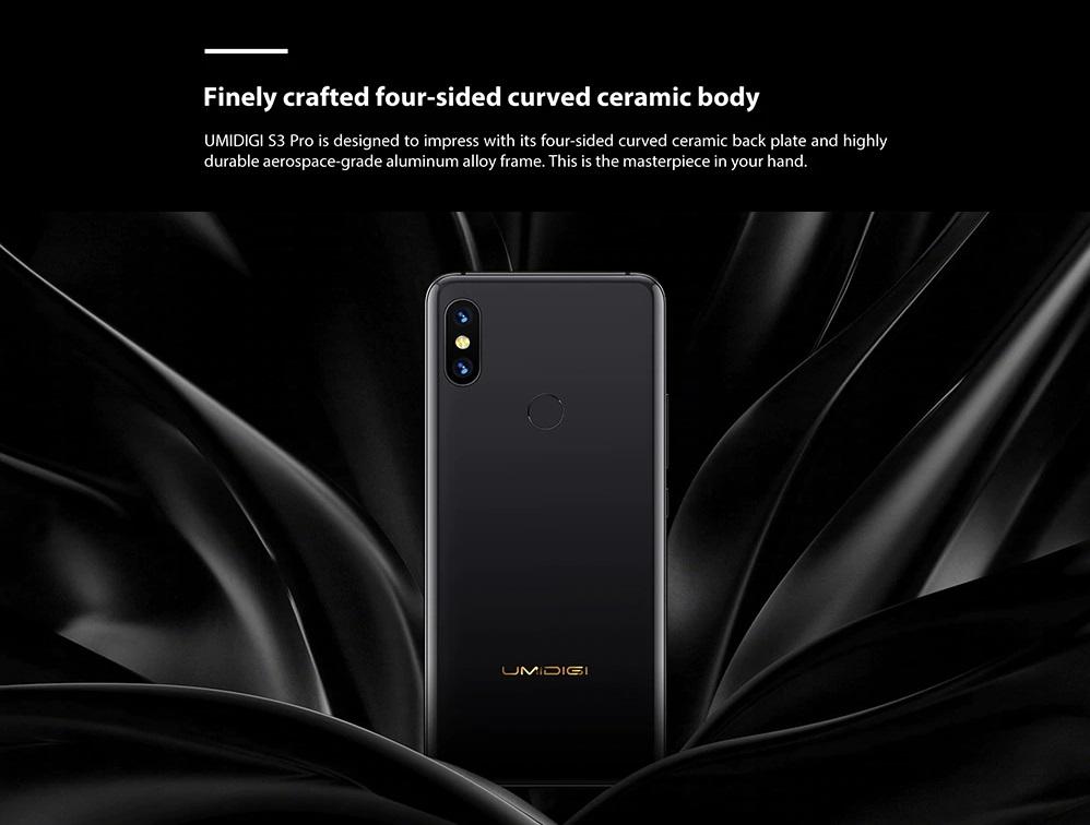 UMIDIGI S3 Pro diseño