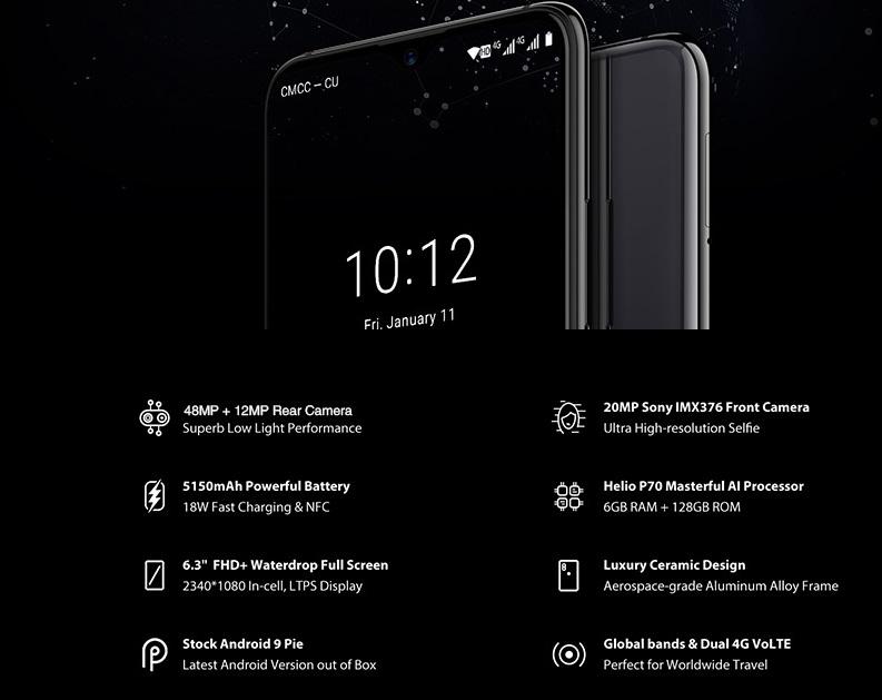 UMIDIGI S3 Pro intro